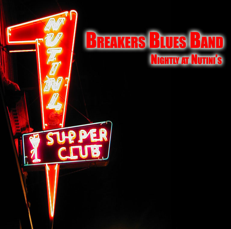 breakers blues band LIVE album cover